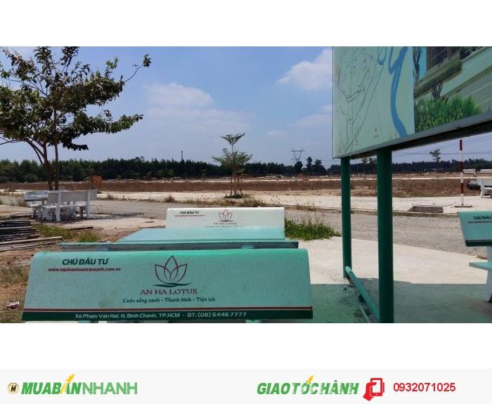 Tập đoàn 3G trực tiếp mở bán dự án An Hạ lotus bình chánh ngay BV chợ rẫy 2