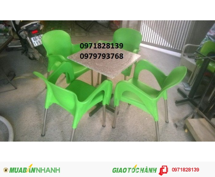 Bàn ghế cafe giá rẻ nhất đất SG1
