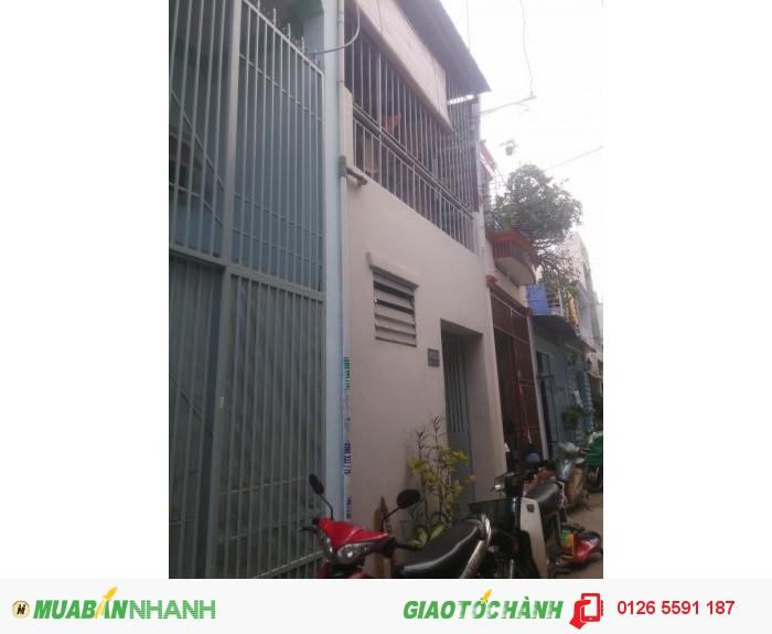 Nhà  bán Gò Vấp, Ngang 3.5m * dài 9m, HXH