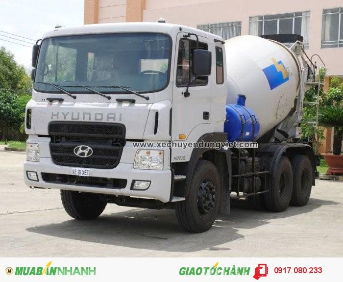 Xe Bồn Trộn Bê Tông Hyundai HD270 giá ưu đãi hỗ trợ 100%VAT, Hồ sơ giao ngay 0