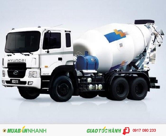 Xe Bồn Trộn Bê Tông Hyundai HD270 giá ưu đãi hỗ trợ 100%VAT, Hồ sơ giao ngay 4