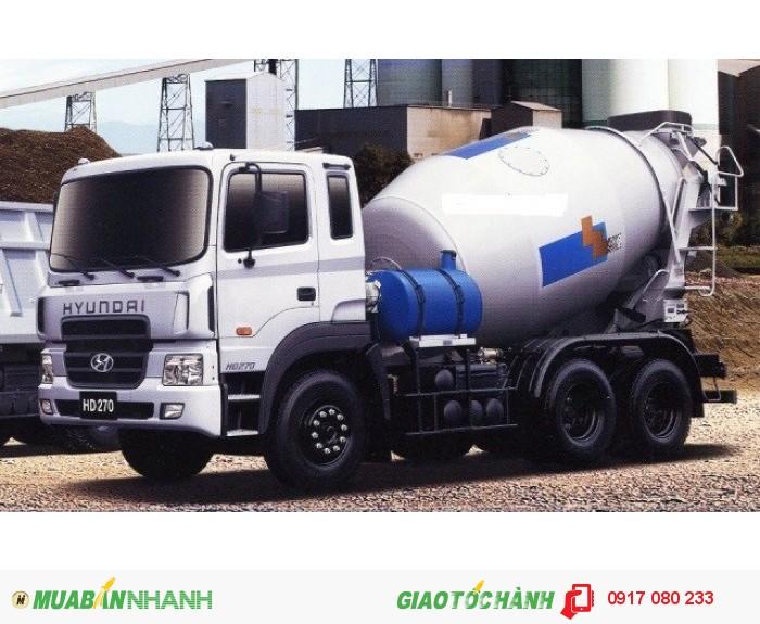 Xe Bồn Trộn Bê Tông Hyundai HD270 giá ưu đãi hỗ trợ 100%VAT, Hồ sơ giao ngay 2
