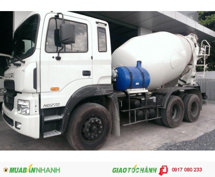 Xe Bồn Trộn Bê Tông Hyundai HD270 giá ưu đãi hỗ trợ 100%VAT, Hồ sơ giao ngay 3