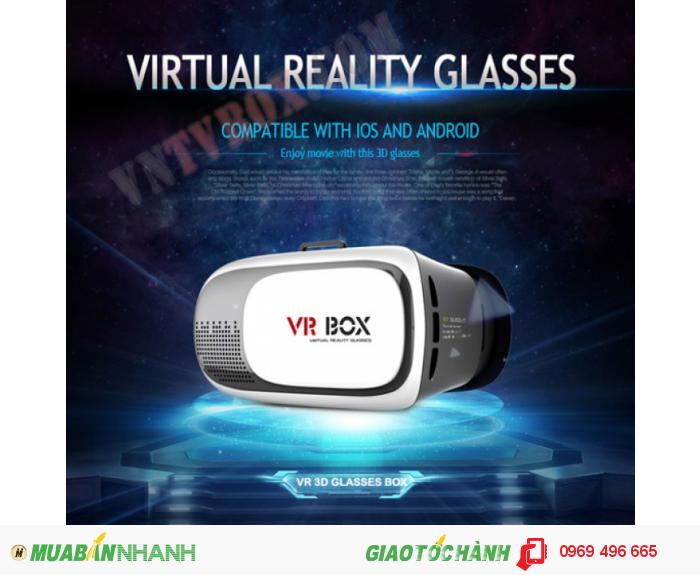 Kinh 3D VR BOX thế hệ 2 xem phim 3d cực đã