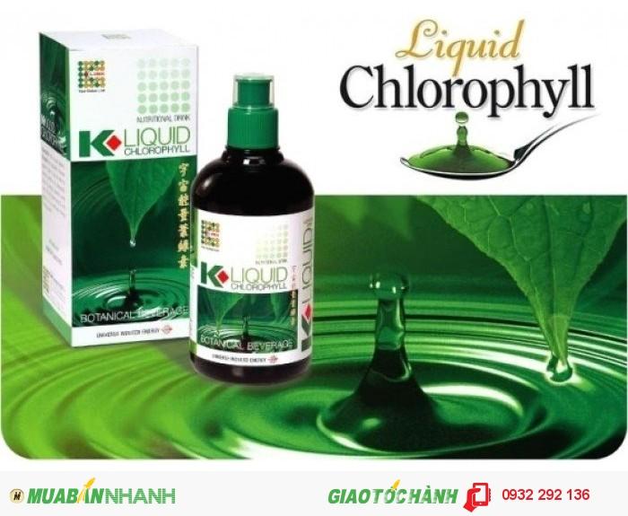 Diệp lục Chlorophyl  thanh nhiệt, giải độc cơ thể