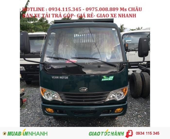 Khuyến mãi- Mua xe veam ben 990kg/ xe ben 1 tấn/ xe ben VB100/ xe ben VB125/ xe ben VB150 giá rẻ.