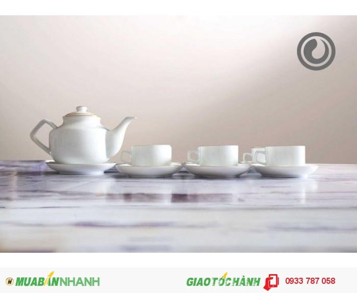 Bộ ấm trà làm quà tặng giá rẻ, ấm trà in logo làm quà tặng giá rẻ1