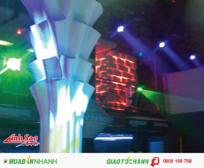 Công ty Ánh Sao Trẻ thi công đèn led cho các sự kiện.
