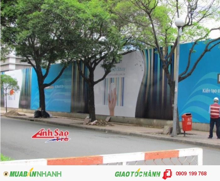 Dịch vụ thi công quảng cáo Ánh Sao Trẻ tại TP.Hồ Chí Minh kết hợp với thiết kế, in ấn tạo nên một chuỗi liên hoàn, tạo sự tiện lợi và tiết kiệm chi phí, thời gian cho những đơn vị có nhu cầu!