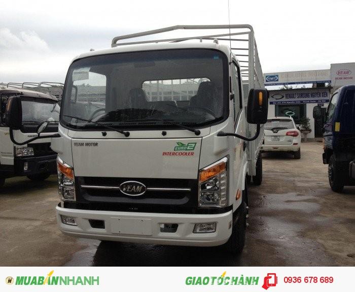Xe tải Veam VT260, tải trọng 2 tấn, thùng siêu dài 6M, máy Hyundai