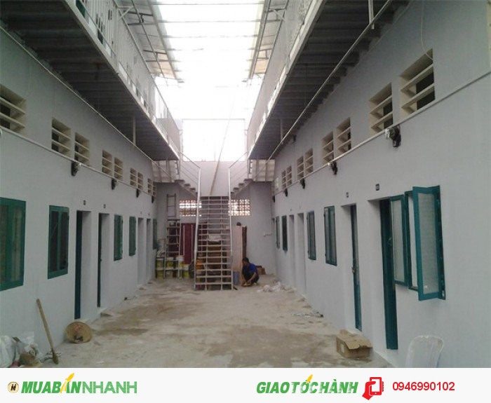4 dãy phòng trọ, 34 phòng, 4 kiot, 600m2, khách thêu còn 7 phòng, giá 1tỷ 800