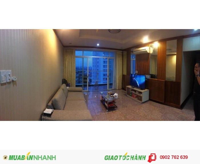 Cho thuê CH Hoàng Anh River View giá tốt nhất thị trường 16 triệu/tháng 3PN, view hồ bơi và sông, nội thất cơ bản dính tường.