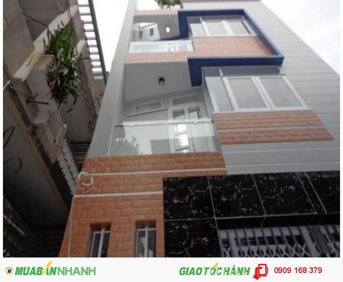 Xuất cảnh bán gấp nhà mới đẹp 3 lầu, 5PN hẻm 8m đường Tôn Thất Hiệp, Phường 13, Quận 11 giá 3,6 tỷ