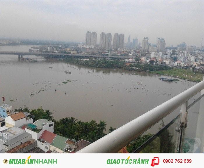 Cho thuê CH Hoàng Anh River View giá cực sốc chỉ với 22triệu/tháng 177m2,4PN, view sông,.