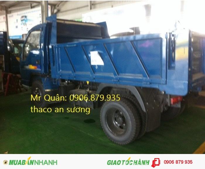 Bán xe ben thaco thaco forland FLD 345C 3.5 tấn tại TP HCM THACO BEN Forland 345C chi nhánh an sương
