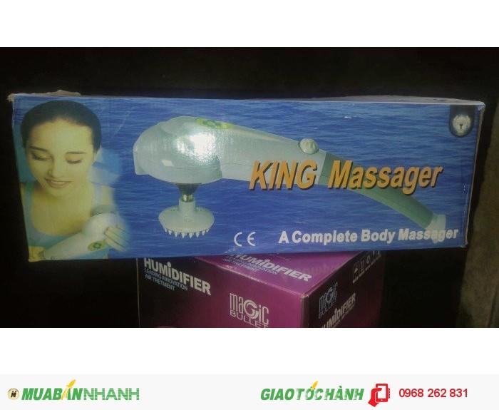 Máy mát-xa hồng ngoại 7 đầu King Massage