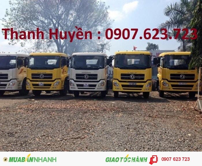 Xe tải Dongfeng 3 chân, trọng tải 13.6 tấn - 2016