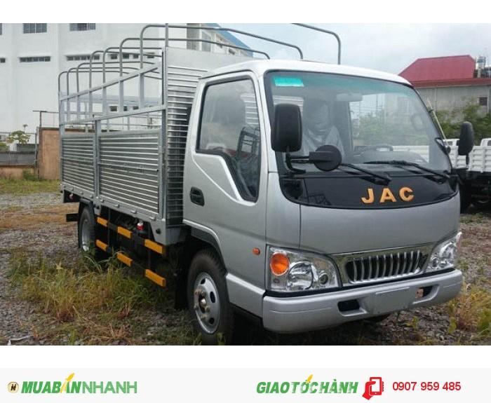Bán xe trả góp xe tải jac 2T4| xe tải jac 2.4 tấn| xe tải jac 2.4t lãi xuất thấp, giá tốt
