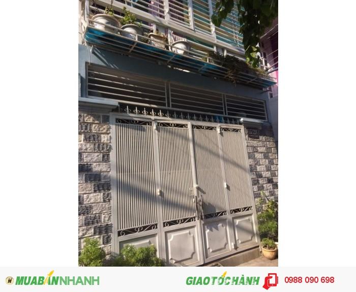 Bán nhà hẻm Huỳnh Văn Bánh, P.17, Phú Nhuận. DT 4x12m,