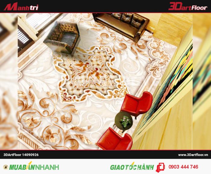 Sử dụng gạch 3D trang trí nội thất