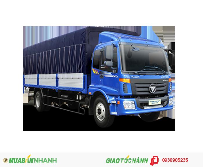 Xe tải Thaco Auman C160, xe tải Thaco 2 chân 9 tấn thùng dài 7,4m