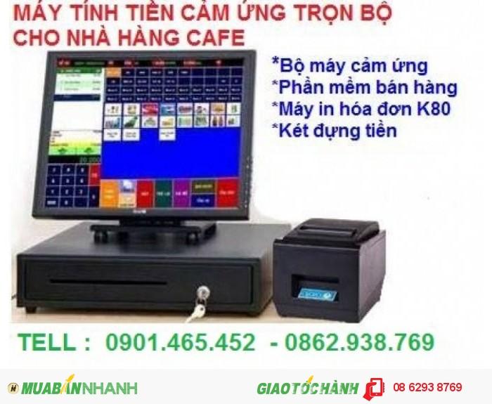 Lắp Đặt Máy Tính Tiền Cảm Ứng Cho Nhà Hàng Hải Sản Tại Kiên Giang2
