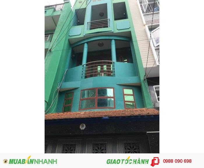 Bán gấp nhà HXH Nghĩa Phát, P.6, Tân Bình. Diện Tích 4.2x20m