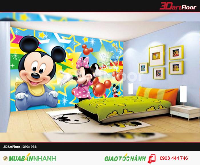 Gạch 3D cho phòng trẻ em