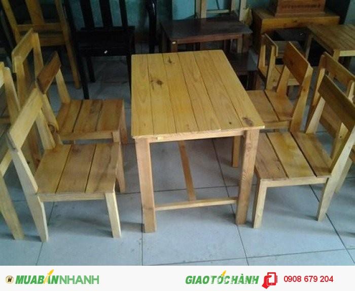Bàn ghế gỗ giá rê nhât2