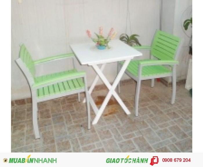 Bàn ghế gỗ giá rê nhât4