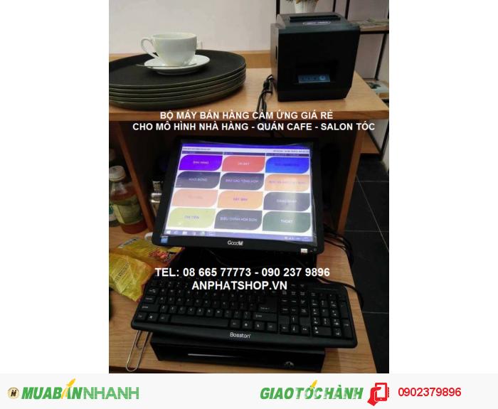 Máy bán hàng cảm ứng RẺ dùng cho QUÁN NHẬU bán tại BẮC CẠN1