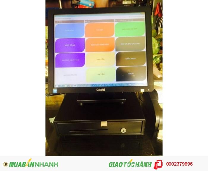 Máy bán hàng cảm ứng RẺ dùng cho QUÁN NHẬU bán tại BẮC CẠN3