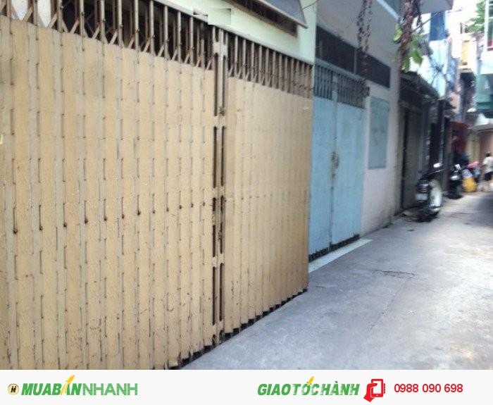 Bán nhà HXH 8m đường Lý Thường Kiệt Phường 6 Tân Bình. DT 4,1x26 NH 4,2m