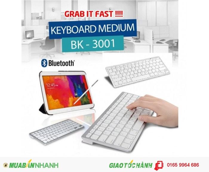 Bàn phím Bluetooth máy tính bảng