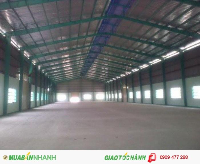 Cho thuê kho xưởng tại P. Tân Hưng, Quận 7, diện tích khuôn viên