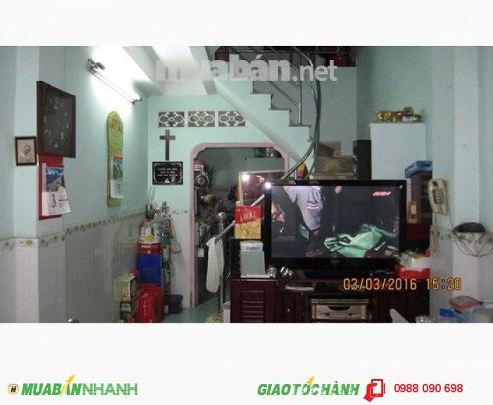 Bán nhà hẻm xe hơi Hoàng Diệu, P.10, Phú Nhuận. DT 6.5x16m,