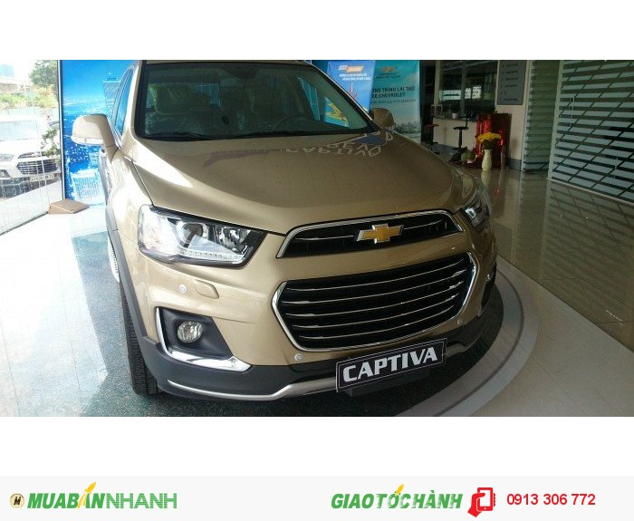 Chevrolet Captiva Revv 2016 phom xe hoàn toàn mới.Biên Hòa Đồng Nai 1