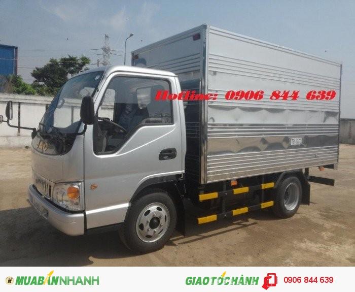 Bán xe tải JAc 2.4 tấn (2.5 tấn) thùng dài 3m4,xe tải Jac 2.5T hạ tải vào thành phố