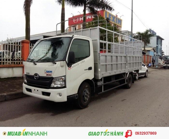 HINO XZU720 tải trọng 3950kg 1