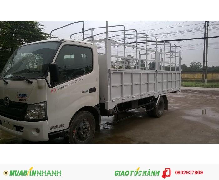 HINO XZU720 tải trọng 3950kg 3