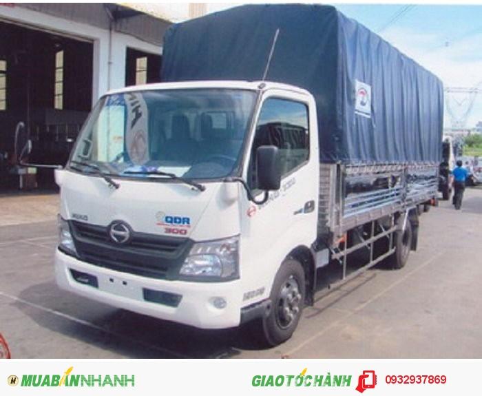 HINO XZU720 tải trọng 3950kg 2