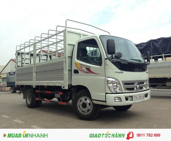 Xe tải thaco, xe tải 5 tấn, xe tải ollin 5 tấn. Chi nhánh Giải Phóng cập nhật Khuyến mại háng 6/2016