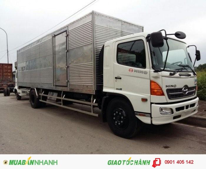 Giá bán xe tải Hino 9T4, 9.4 tấn FG8JPSL nhập khẩu thùng dài 8m6 2016