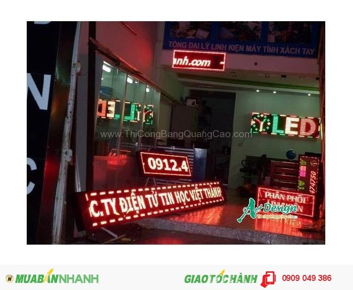 Chuyên sản xuất lắp đặt các loại bảng hiệu led, trang trí led