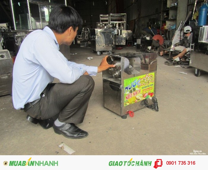 Dịch vụ sửa chữa máy ép nước mía