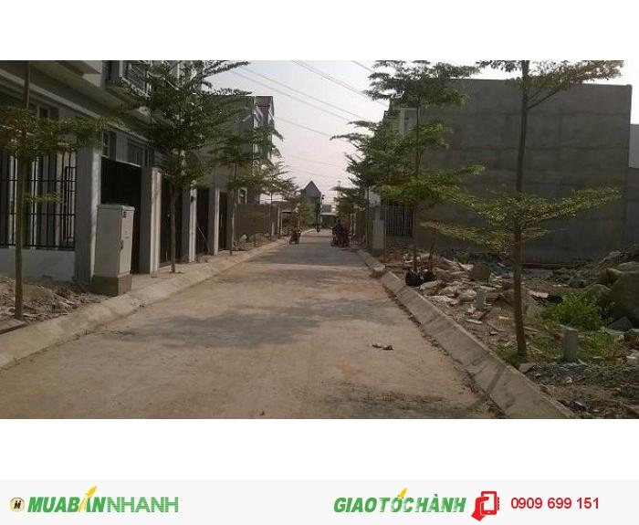 Bán đất Phong phú - Quốc lộ 50 bình chánh giá 750tr/nền