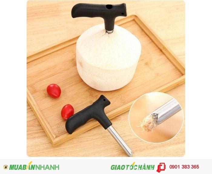 Dụng cụ khui dừa siêu nhanh cho các bạn thích uống nước dừa-MSN388009