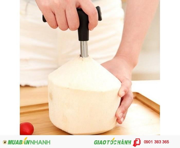 Dụng cụ khui dừa siêu nhanh,Nhanh Chóng Tiện Lợi - MSN388009