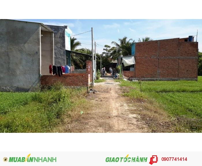 Đất ở giá rẻ : 140tr/1 nền tại TPHCM. Gần ủy ban, chợ, trường học, đông dân cư, điện nước.