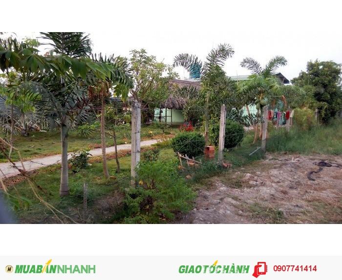 Đất vườn ECO5: 1000m2/450tr – Tại TPHCM: Đông dân cư, đường oto, sổ hồng riêng.
